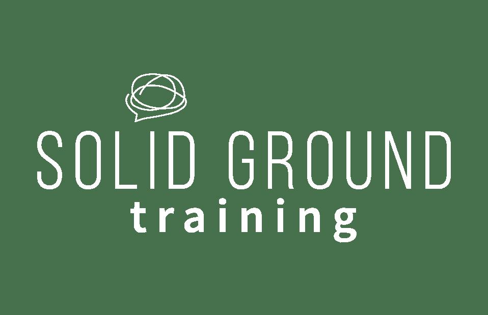 Solid Ground - Training Logo Icon